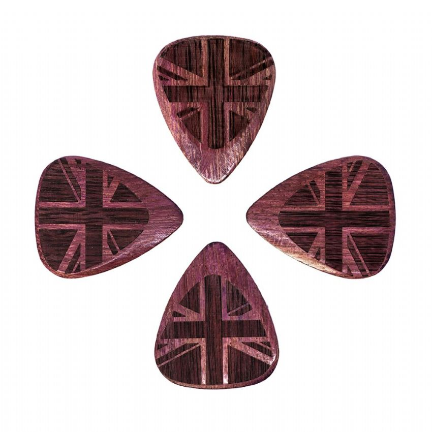 Flag Tones - Union Jack Purple - 4 Picks | Timber Tones